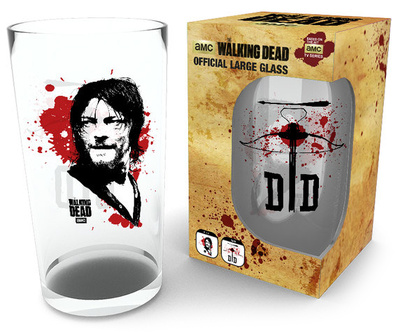 The Walking Dead - Daryl 500 ml Glass Novinky (Novelty)