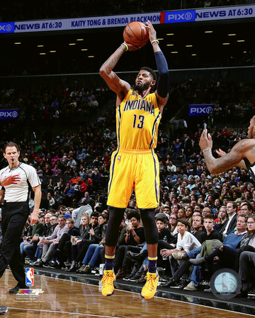 Paul George 2016-17 Action Photo