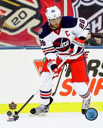 Blake Wheeler 2016 NHL Heritage Classic Photo