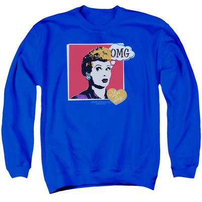 Crewneck Sweatshirt: I Love Lucy - I Love Worhol Omg Shirts