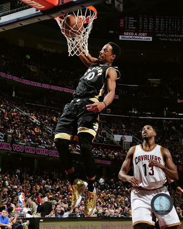 DeMar DeRozan 2015-16 Action Photo