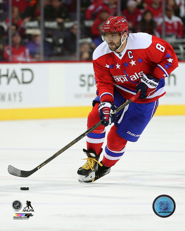 Alex Ovechkin 2015-16 Action Photo