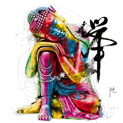 Buddha Poster by Patrice Murciano