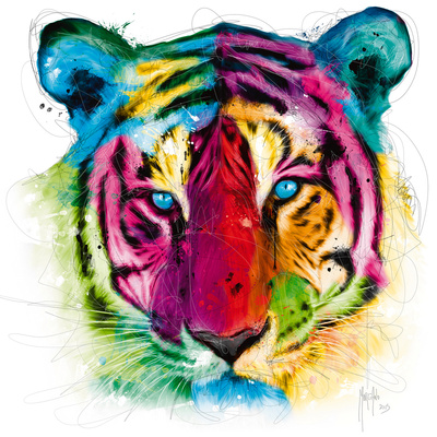 Tiger Pop Prints by Patrice Murciano