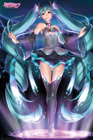 Hatsune Miku- Projection Prints
