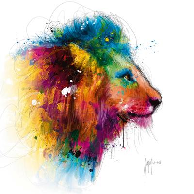Jungle´s King Kunst af Patrice Murciano