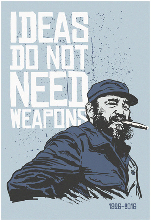 Ideas Not Weapons Print