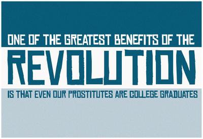 Revolutionary Education Banner Prints