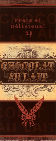 Chocolat I Posters by Stephanie French