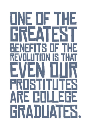 Revolutionary Education Poster