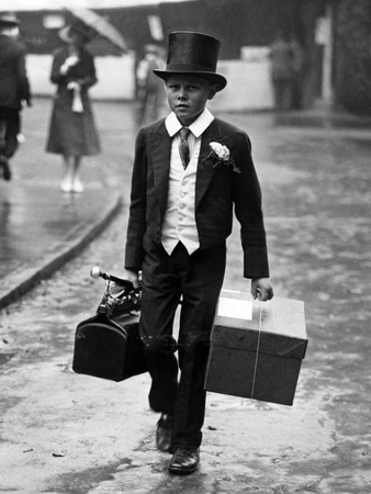 Student from Eton Public School in London, 1925 Photographic Print by Scherl Süddeutsche Zeitung Photo