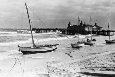 Beach Resort of Ahlbeck on Usedom, 1929 Photographic Print by Scherl Süddeutsche Zeitung Photo