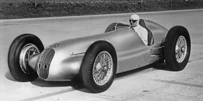 Mercedes-Benz 3-L-Formula Race Car W 154, 1940 Photographic Print by Knorr Hirth Süddeutsche Zeitung Photo