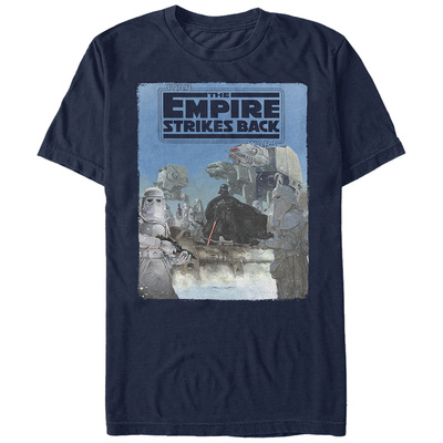 Star Wars: Empire Strikes Back- Vader Invades Hoth T-Shirt