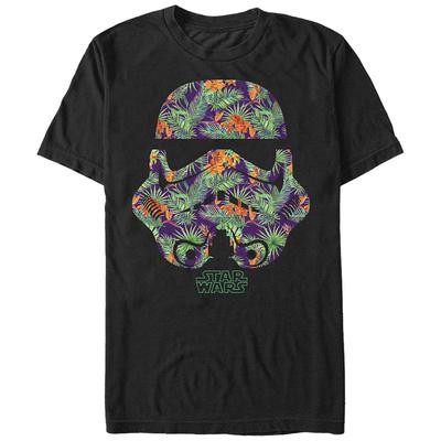 Star Wars- Palm Frond Trooper Helmet T-shirts