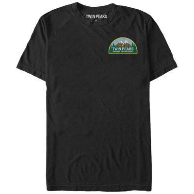 Twin Peaks- Sheriff Dept Pocket Icon T-shirts