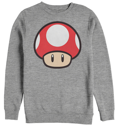 Crewneck Sweatshirt: Super Marios Bros- Big Power Up T-shirts
