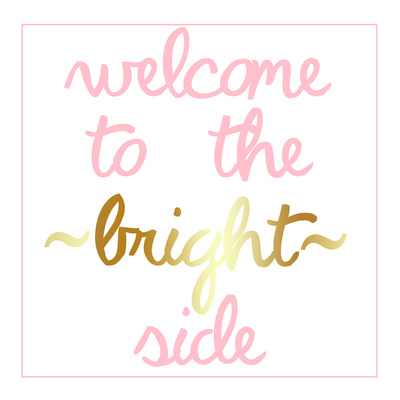 Bright Side Prints by Jelena Matic
