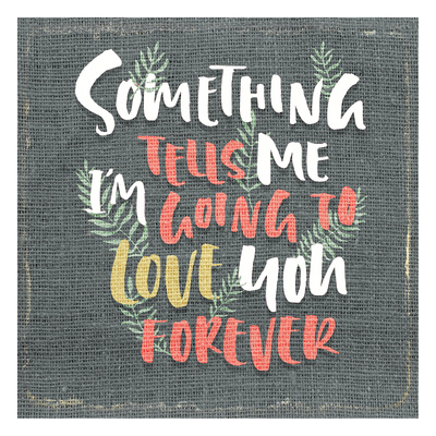 Something Tells Me Posters by Kimberly Allen