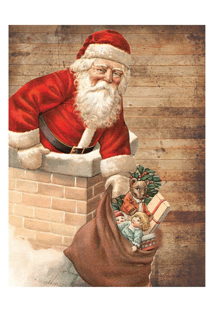 Hurry Down The Chimney Prints by Sheldon Lewis