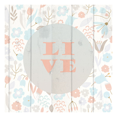 Spring Live Print by Kimberly Allen