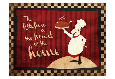 Heart Of The Home Prints by Jace Grey