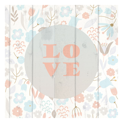Spring Love Prints by Kimberly Allen