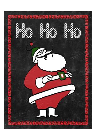 HO HO HO Prints by Sheldon Lewis