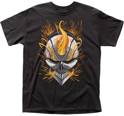 Marvel: Ghost Rider- Flaming Skull T-shirts