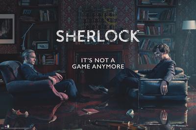 Sherlock Rising Tide Stampa