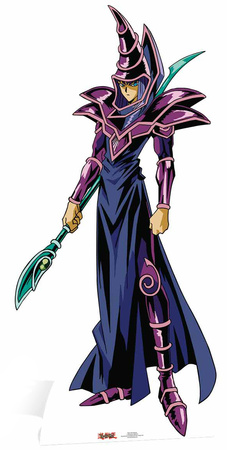 Dark Magician Male - Yu-Gi-Oh! Figura de cartón