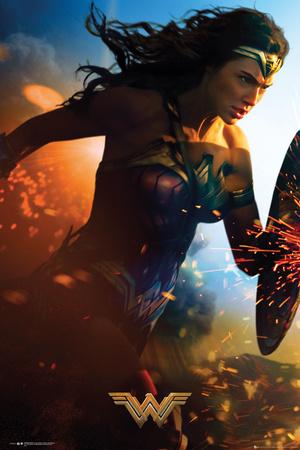 Wonder Woman- Run Plakater