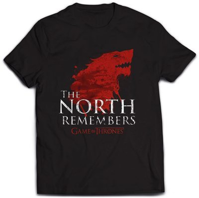 Game Of Thrones- The North Remembers T-Shirt