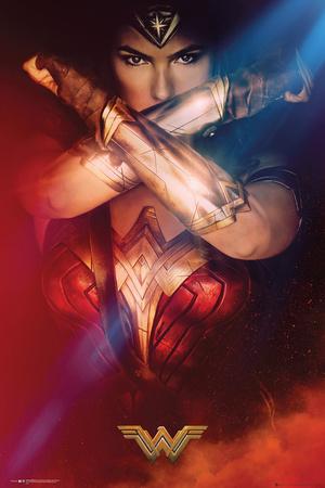 Wonder Woman- Cross Plakater