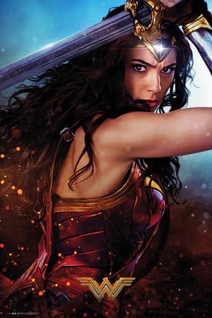 Wonder Woman- Defend Posters