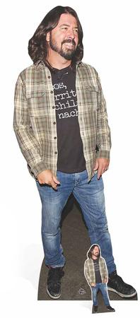Dave Grohl - Check Shirt Postacie z kartonu