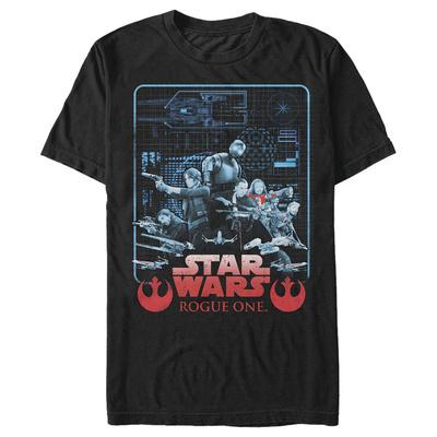 Star Wars: Rogue One- Crew Schematics T-shirts