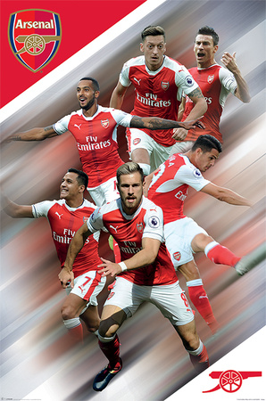 Arsenal FC - Players 16/17 Posters
