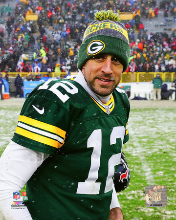 NFL: Aaron Rodgers 2016 Action Photo