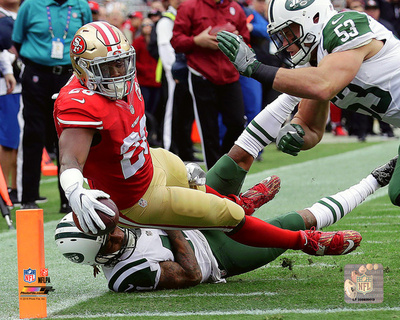 NFL: Carlos Hyde 2016 Action Photo