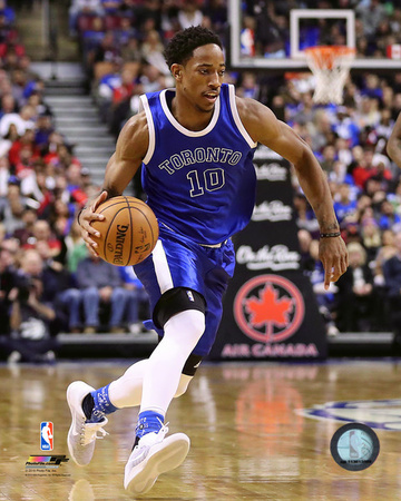 NBA: DeMar DeRozan 2016-17 Action Photo