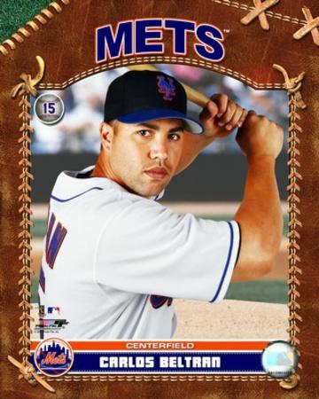 MLB: Carlos Beltran - 2007 Studio Plus Photo