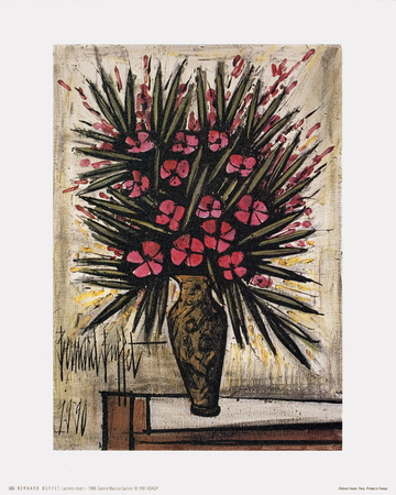 Lauriers-Roses I Posters by Bernard Buffet