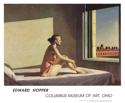 Morning Sun Posters by Edward Hopper