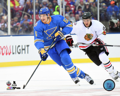 Colton Parayko 2017 NHL Winter Classic Photo