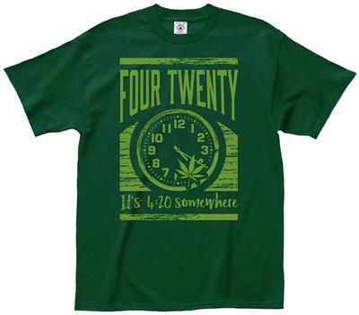 It's 4-20 Somewhere T-Shirt