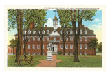 College of William & Mary, Williamsburg, Virginia Art Print