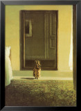 Bunny Dressing Posters by Michael Sowa