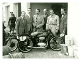 First Mondial Made Motorcycle Giclee Print