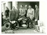 First Mondial Made Motorcycle Lámina giclée